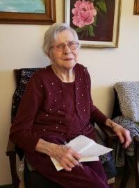 Mary Thiessen Wiens  December 15 1930