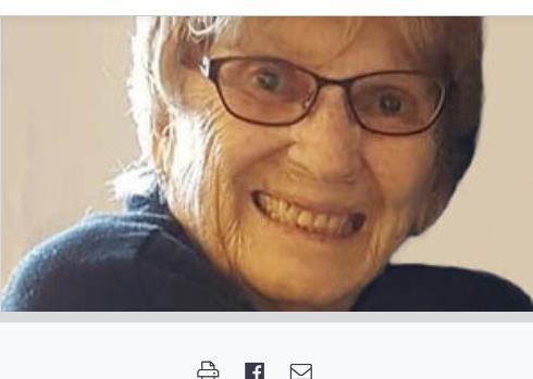 Marie Delcina Duguay  2021 avis de deces  NecroCanada