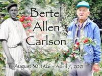 Bertel Carlson  1926  2021 avis de deces  NecroCanada