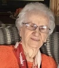 Lillian Blanche Cooper nee Gardner  Sunday April 11th 2021 avis de deces  NecroCanada