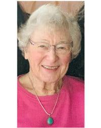 Margaret Kathleen Eby nee Wilson  January 21 1935 April 11 2021 avis de deces  NecroCanada