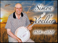 Simon Voeller  1924  2021 avis de deces  NecroCanada
