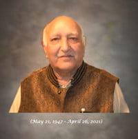 Vijay Kumar Sabharwal  2021 avis de deces  NecroCanada