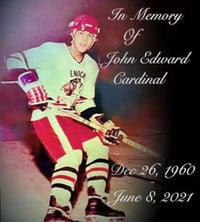 John Edward Cardinal  2021 avis de deces  NecroCanada