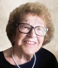 Leontine Couture Cadoret  1925  2021 (96 ans) avis de deces  NecroCanada