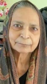 Harcharan Kaur Rai  2021 avis de deces  NecroCanada