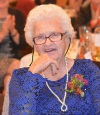 Mildred Irene Clow Parslow  Monday July 12th 2021 avis de deces  NecroCanada