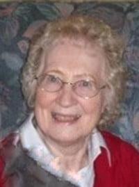 Elizabeth Isabel O'Grady nee Harris Betty Snow  August 13 1923 to July 25 2021 avis de deces  NecroCanada