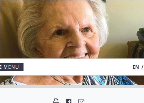 Marguerite LeBlanc  2021 avis de deces  NecroCanada