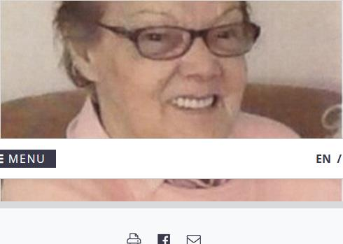 Therese Hache  2021 avis de deces  NecroCanada