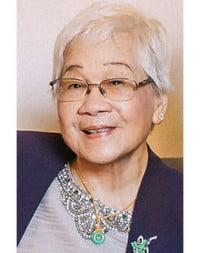 Lai Kuen Chan  November 2 1934 – August 31 2021 avis de deces  NecroCanada