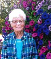 Bernice Olive Brownlee Wattrud  Thursday September 16th 2021 avis de deces  NecroCanada