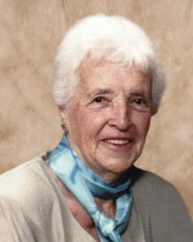 Marguerite Bérubé Baron 1918 - 2014