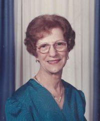 Isabelle Plamondon Paquin (1919-2017)