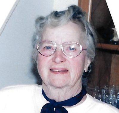 Margaret Bloomfield (Née Cameron) - 1922 - 2017