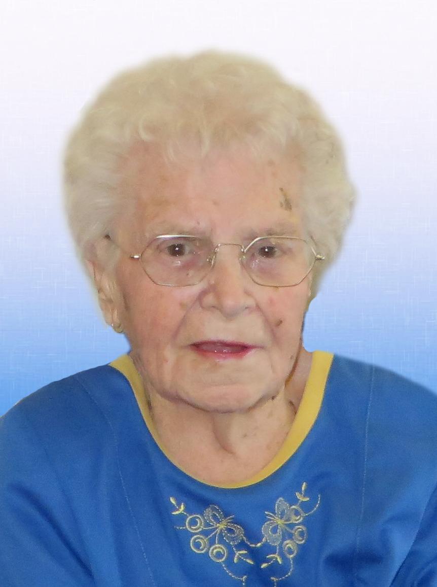 Mme Annette Ouellet MEUNIER - Décédée le 04 septembre 2017
