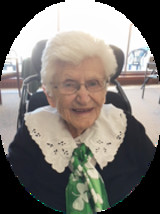 Mary Veronica O'Keefe Carroll  1920  2017