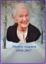 Gagnon Therese  1926  2017