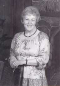 Margaret Mary Bowie  19272018 avis de deces  NecroCanada