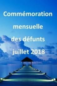 COMMeMORATION MENSUELLE Des defunts juillet 2018  2018 avis de deces  NecroCanada