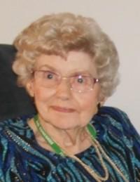 Gudrun Oluf Olive Yeske  November 6 1925  June 19 2018 avis de deces  NecroCanada