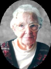 Olive Shields Hall  1923  2018 avis de deces  NecroCanada