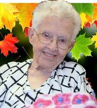Margaret Olive Elliot Sando  November 14 1923  October 16 2018 (age 94) avis de deces  NecroCanada
