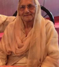 Vidya Devi Saini  May 2 1934 –