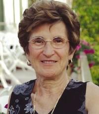 Rosaria Marrazzo Cuglietta  2018 avis de deces  NecroCanada