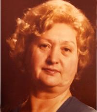 Vilma Bodnar Janos  October 21 1926 –