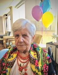 Olga Buhajsky  March 30 1918  August 1 2019 (age 101) avis de deces  NecroCanada
