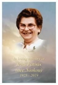Irini Fatisisnee Niokou avis de deces  NecroCanada