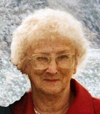Eileen Anna Mary Schultz St Martin avis de deces  NecroCanada