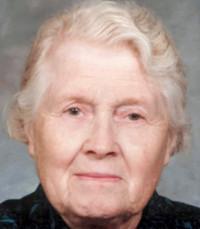 Hilda Matthies avis de deces  NecroCanada