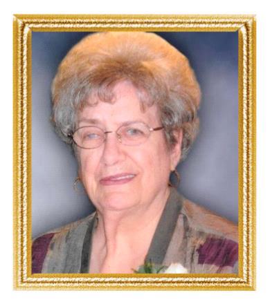 Mme Aline Poirier Menard avis de deces  NecroCanada