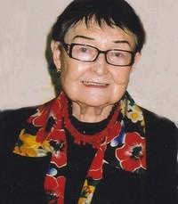 Vera Plawuszczak  Wednesday October 23rd 2019 avis de deces  NecroCanada