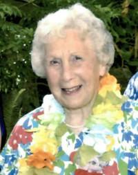 Edna Mary Steel nee Wilderspin  April 18 1923  November 26 2019 avis de deces  NecroCanada