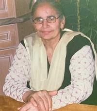 Ranjit Kaur Grewal  Friday December 27th 2019 avis de deces  NecroCanada