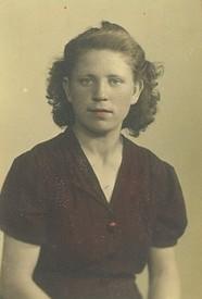 Nadia Didushok  May 06 1921  August 05 2020 avis de deces  NecroCanada