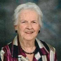 Marjorie Alice Marshall  October 26 1920  October 19 2020 avis de deces  NecroCanada