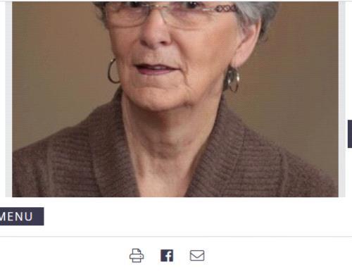 Jeannine Poirier  2020 avis de deces  NecroCanada