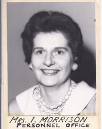 Isabel May Morrison  March 13 1922December 7 2020 avis de deces  NecroCanada