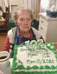 Clarice Staf  November 10 1918  December 28 2020 (age 102) avis de deces  NecroCanada