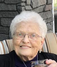 Marion Gertrude Johnson  December 31 1926  December 28 2020 (age 93) avis de deces  NecroCanada