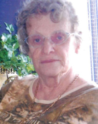 Mme Therese Crispin Lacoste 9 fevrier   2021 avis de deces  NecroCanada