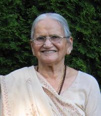 Shantaben Chhatralia  Friday June 4th 2021 avis de deces  NecroCanada