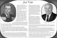 Jack Cable  August 17 1934  July 21 2021 avis de deces  NecroCanada