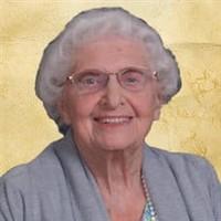 Beulah Jean Thompson  August 7 1922  July 27 2021 avis de deces  NecroCanada