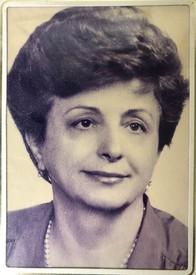 Barbara Zaharescu nee Brunner  August 27 1929