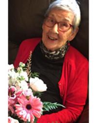 Gertrude Wilma Merrell Oliver  September 18 1928  August 4 2021 avis de deces  NecroCanada